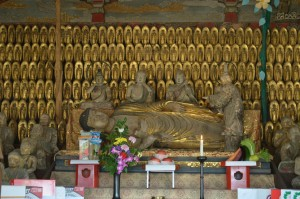 釈迦堂内涅槃像